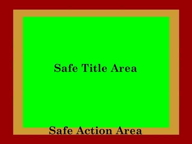 Composition safe area